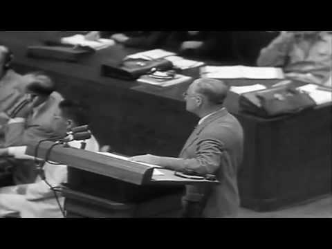 War Crimes Trials Tokyo, Japan, 08/13/1946 (full)