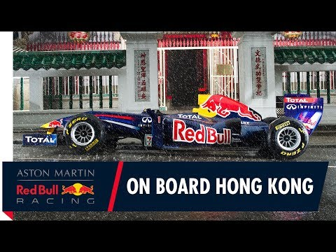 On Board with Red Bull Racing on the streets of Hong Kong!