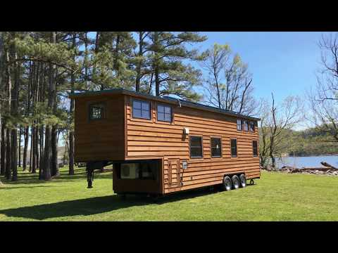 2018 Tiny House:  OFF GRID Has NEVER Looked So Beautiful!!