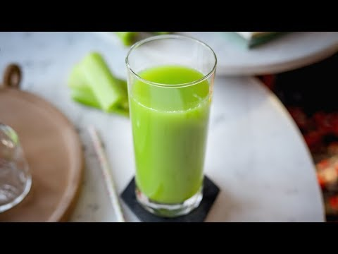 Celery Juice | How To Make Celery Juice In A Blender