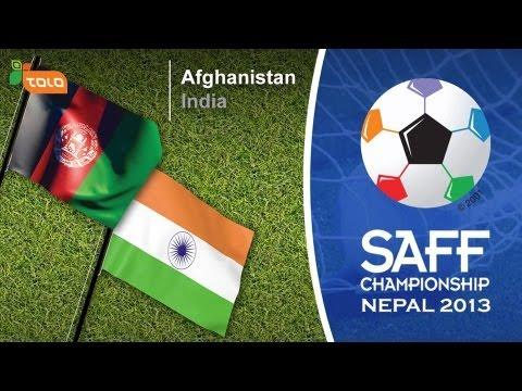 SAFF Championship 2013 Final Match - Afghanistan VS India - Highlights.2