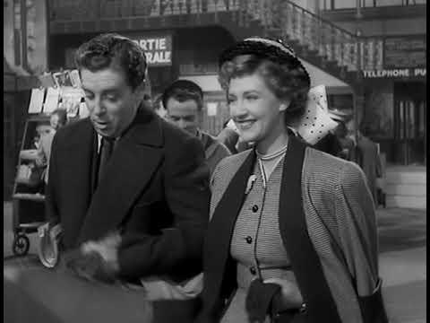 1948 British Espionage Film... Drama on a Train