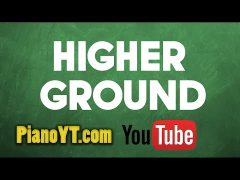 Higher Ground - UB40 Piano Tutorial - PianoYT.com