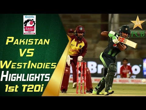 Highlights | 1st T20i |  Pakistan Vs Windies 2018 | Jubilee Insurance Cup 2018 | PCB thumbnail