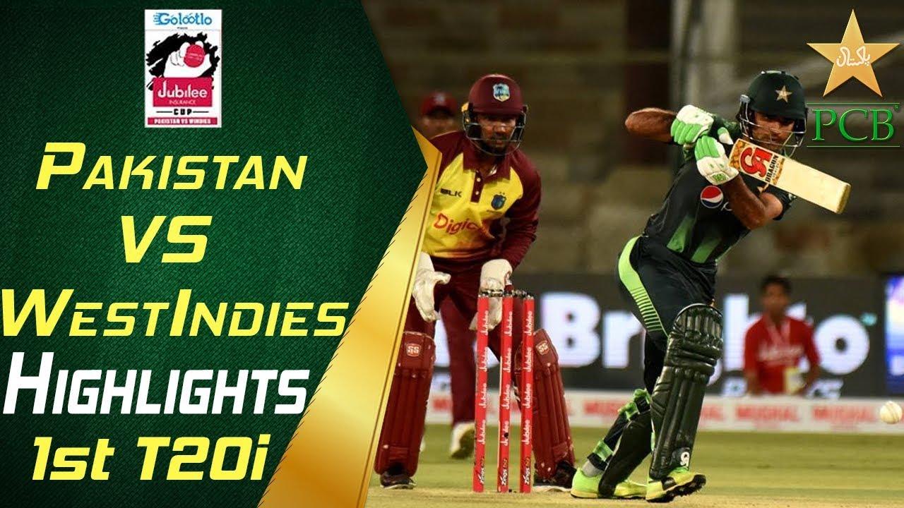 Highlights | 1st T20i |  Pakistan Vs Windies 2018 | Jubilee Insurance Cup 2018 | PCB