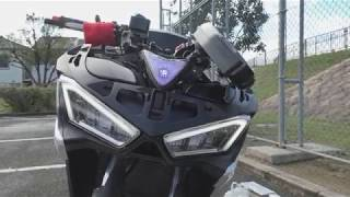 【付けてみた】LEDアイラインヘッドライト配線説明With★YZF-R25★