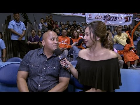 Interview with Bato   PBA Governor's Cup 2016