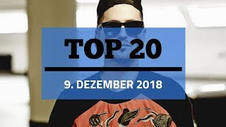 TOP 20 SINGLE CHARTS ♫ 9. DEZEMBER 2018
