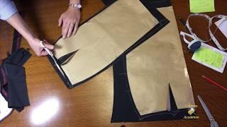 Coudre jupe crayon doublée avec la ceinture et fente ce n'est pas si difficile qu'on crois. Version facile, niveau débutant. Explications en toutes les detailles.