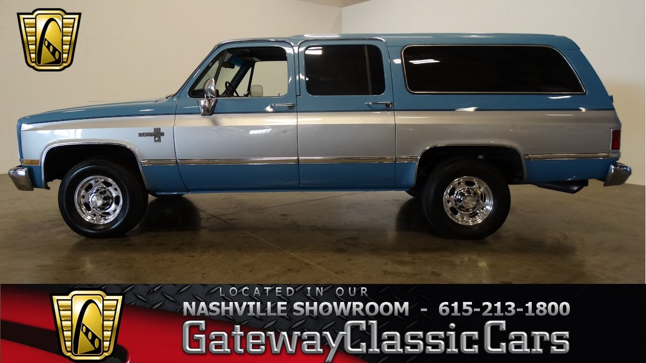 1986 Chevrolet Suburban, Gateway Classic Cars-Nashville#474 - YouTube
