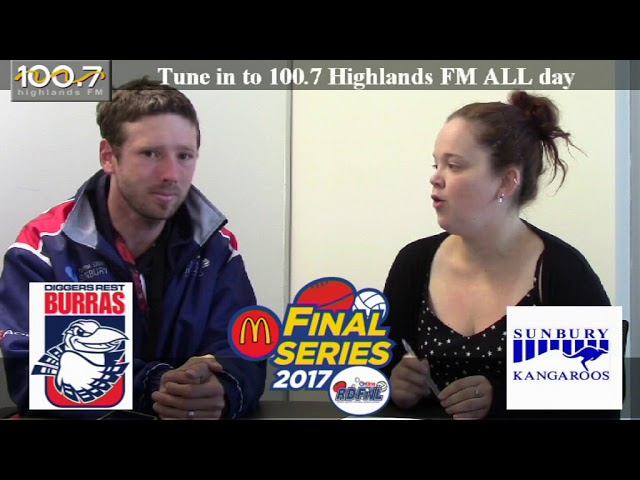 RDFNL Footy Show - Finals - Week One - Diggers Rest v Sunbury Kangaroos