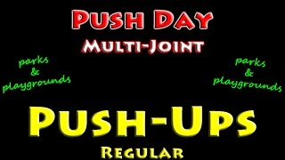 Free Workouts: Playground Push-ups For Chest, Shoulders, & Triceps