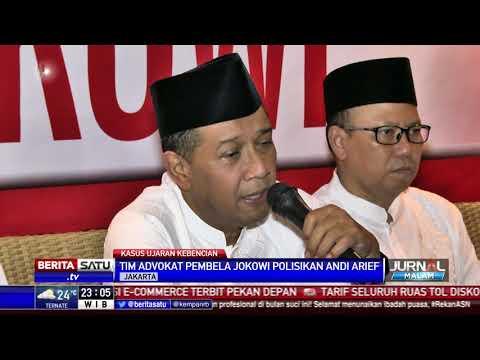 Tim Pembela Jokowi Akan Polisikan Andi Arief Soal Ujaran Kebencian