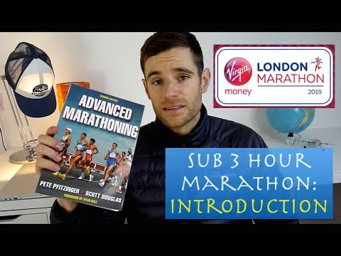 Sub 3 hour marathon training plan: Introduction
