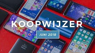 Dit zijn de beste smartphones van juni 2018 - Telekoopwijzer video (Dutch)