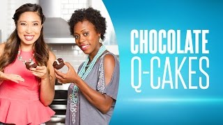 Chocolate Q-Cakes ft. BrittsBreakdown & Blogilates