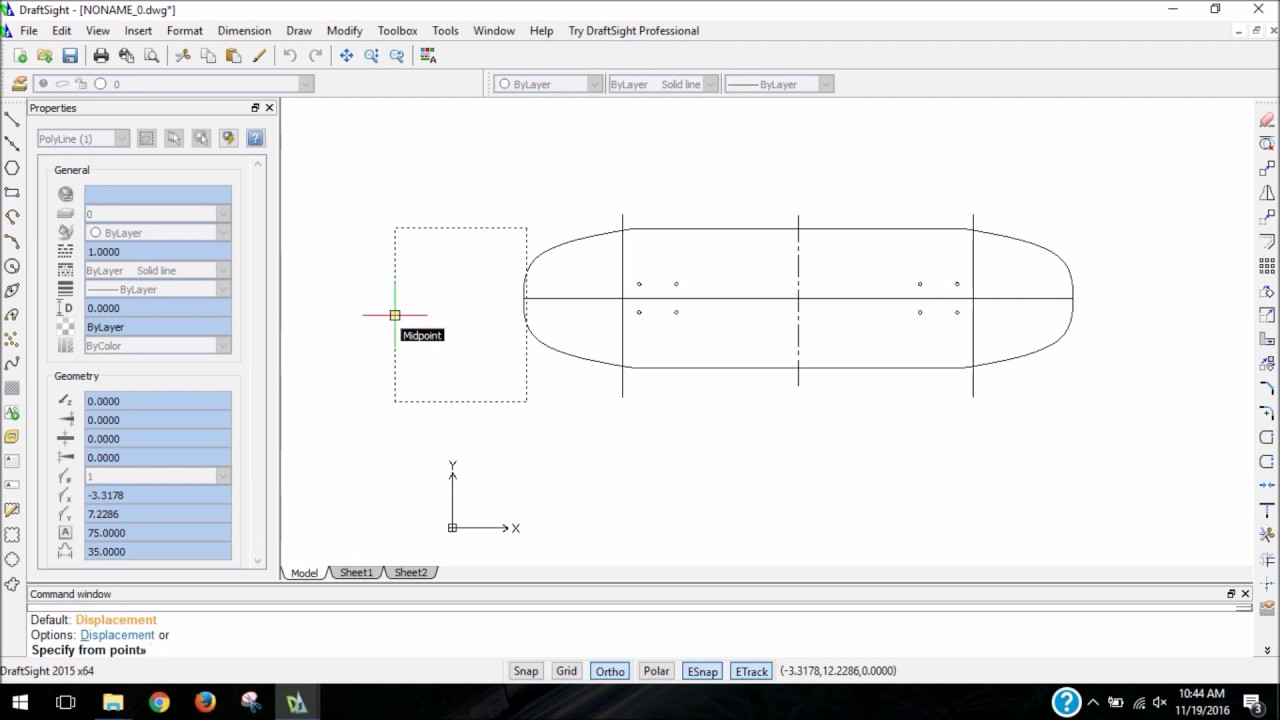 how to print a skateboard template