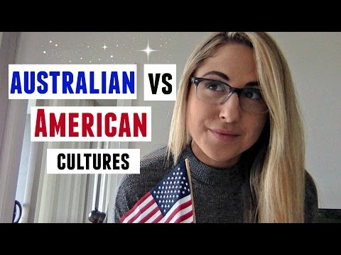 AUSTRALIAN VS AMERICAN CULTURE TOLD BY AN AMERICAN