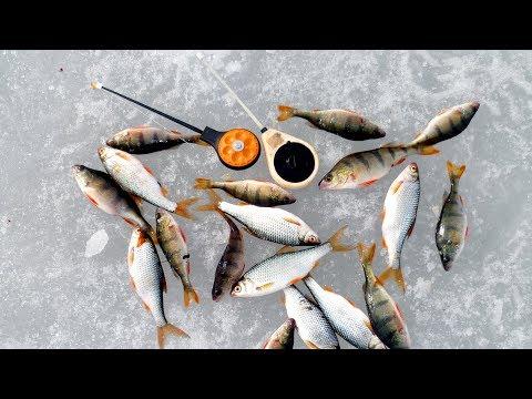 Оснастка для зимней удочки с отводным поводком. Зимняя рыбалка.
