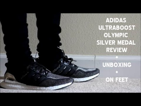 Adidas Ultra Boost Ltd Silver Medal Olympic Unboxing On