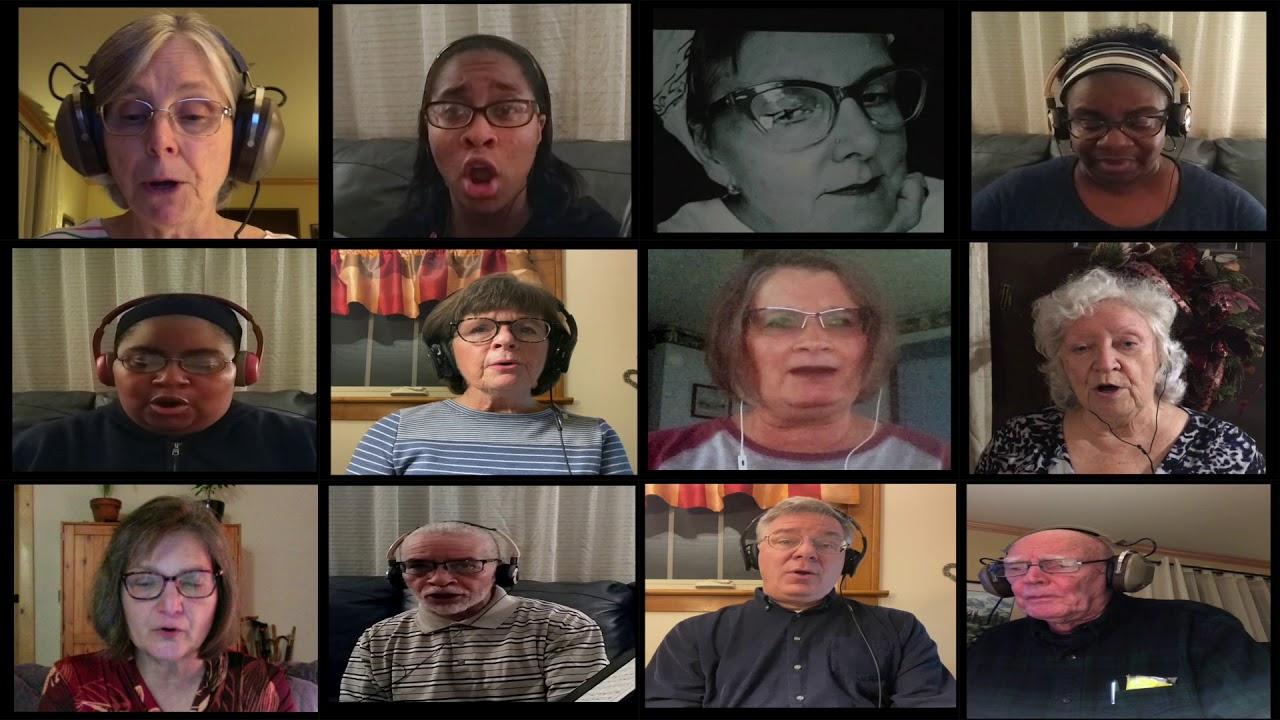 Harmony Sings Virtual Choir 'Now Thank We All Our God'