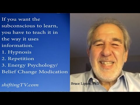 Bruce Lipton, Rewrite Subconscious Programming Quickly - ShiftingTV