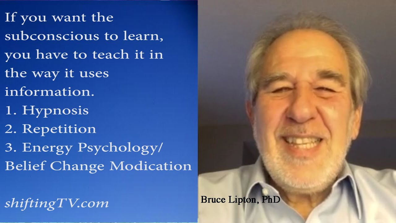 bruce lipton [the biology of belief] bruce lipton | fall 2009 it's obviously for awhile, that it's not even going to look that way, especially for you, and why this is.