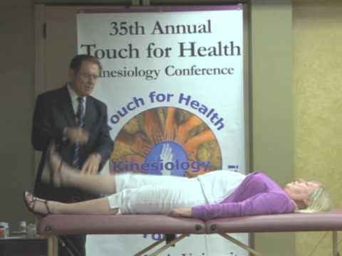 See it to believe it, Touch for Health, Applied Kinesiology Demonstration