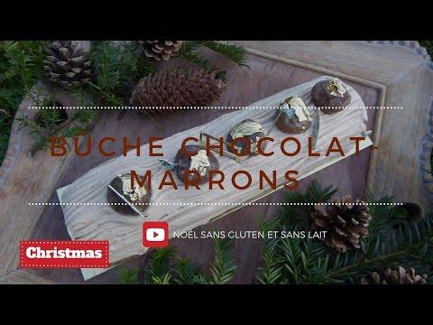 bûche-chocolat-noir-et-marrons-(sans-gluten-et-sans-lait)