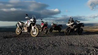 Adventure Bike Showdown: Honda Africa Twin v. BMW, Triumph and KTM