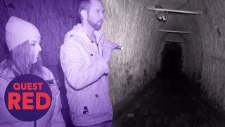 Three Men Buried Alive In The Haunted Drakelow Tunnels | Paranormal Lockdown UK