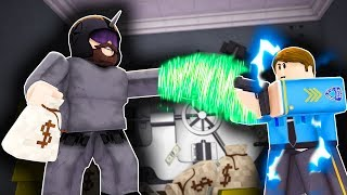 Roblox Daycare - SUPER VILLAIN ROBS THE BANK !? (Roblox Roleplay)