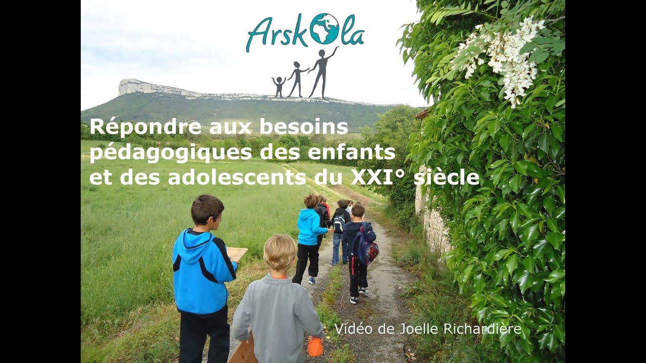 Répondre aux besoins pédagogiques des enfants et des adolescents de ce XXI° s + p. Questions/dossier