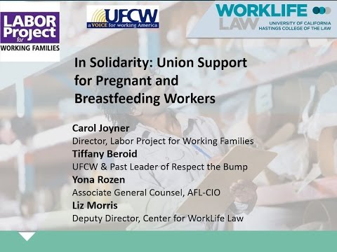 In Solidarity: Union Support for Pregnant and Breastfeeding Workers