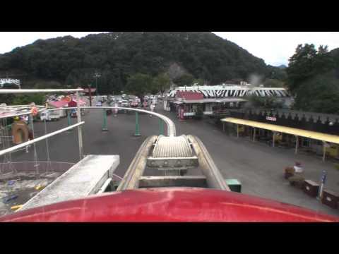 Jet Coaster Roller Coaster Front Seat POV On-Ride Gunma Safari Park Japan