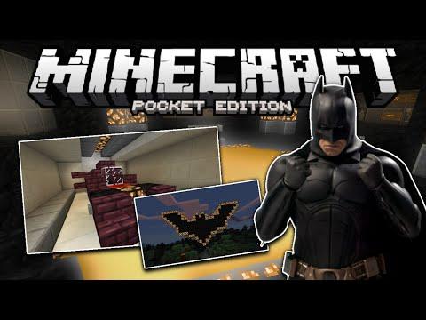 Batman Map Minecraft PE