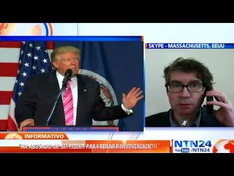 John Bonifaz dice que Trump podría enfrentar un juicio político si se comprueba un abuso de poder