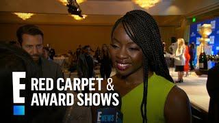 "Danai Gurira Reacts to ""Black Panther"" Golden Globes Nominations | E! Red Carpet & Award Shows"