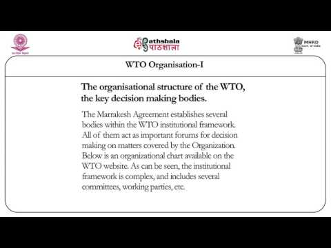 The world trade organization: 1 (LAW)