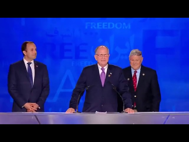 MEK Free Iran rally in Albania - Judge Ted Poe speech in annual rally of Iranian opposition