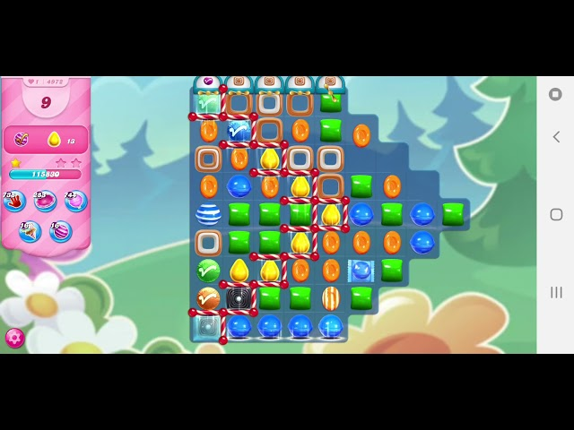 Candy Crush Saga niveau 4972
