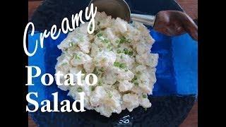 Super Easy And Creamy Potato Salad -- The Frugal Chef