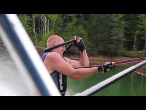 Randumb - Guy Nearly Dies While Barefoot Water Skiing