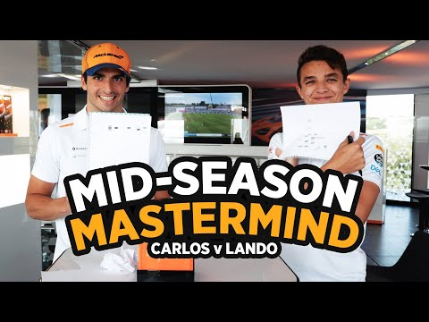 How well do Carlos Sainz and Lando Norris know each other?