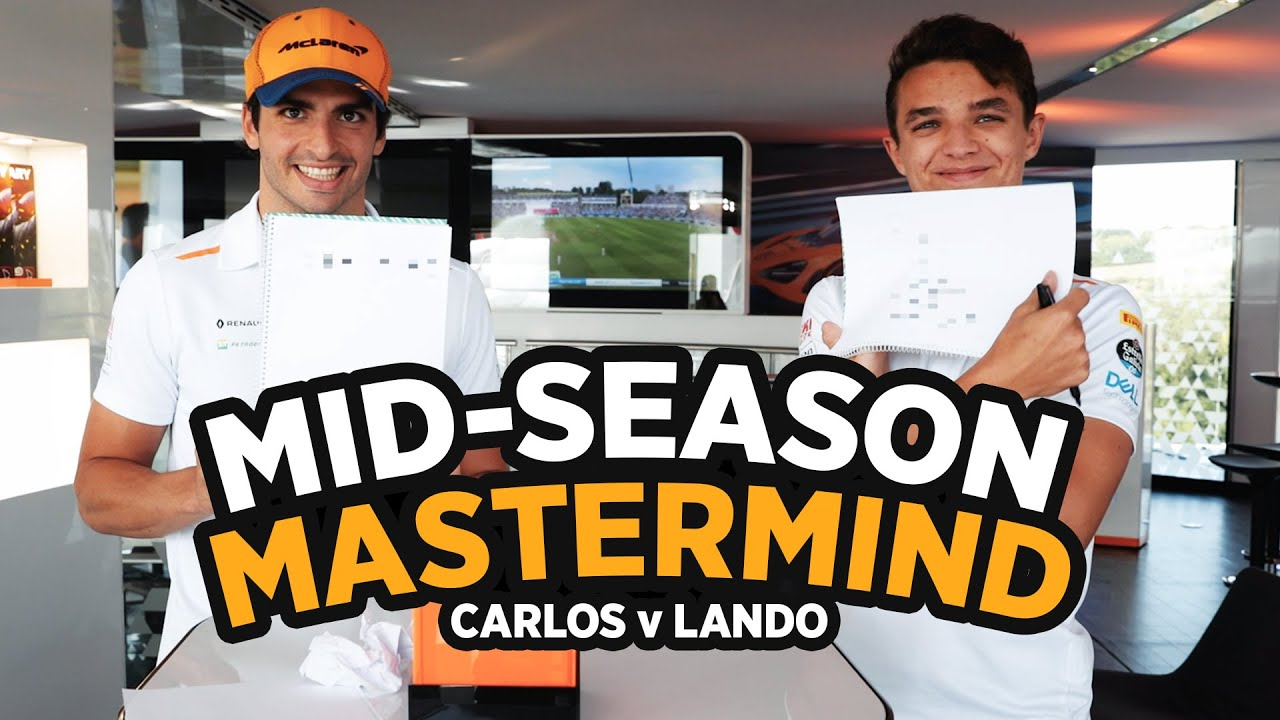 How well do Carlos Sainz and Lando Norris know each other? - Motor Informed