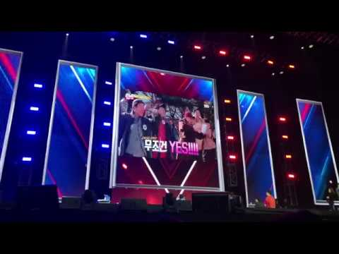 [190202] Keep on Running LIVE in Hong Kong應援影片 現場反應+石鎮慶生/Fans VCR LIVE & Seokjin's birthday - YouTube
