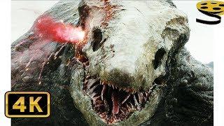 Конг против Главаря Черепозавров | Конг: Остров черепа | 4K ULTRA HD