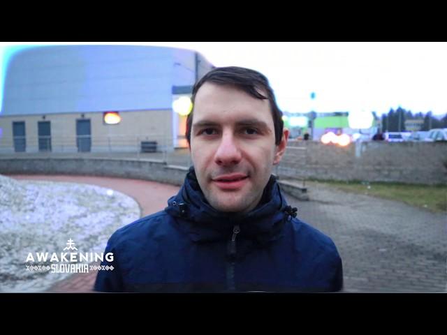 Ako som bezdomovcovi ukázal lásku a zdieľal s ním evanjelium   JURAJ   AWAKENING SLOVAKIA