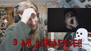 To Spoop | Ryan Reacts to SCARY 3AM CHALLENGE IN MY OLD HAUNTED HOUSE!!