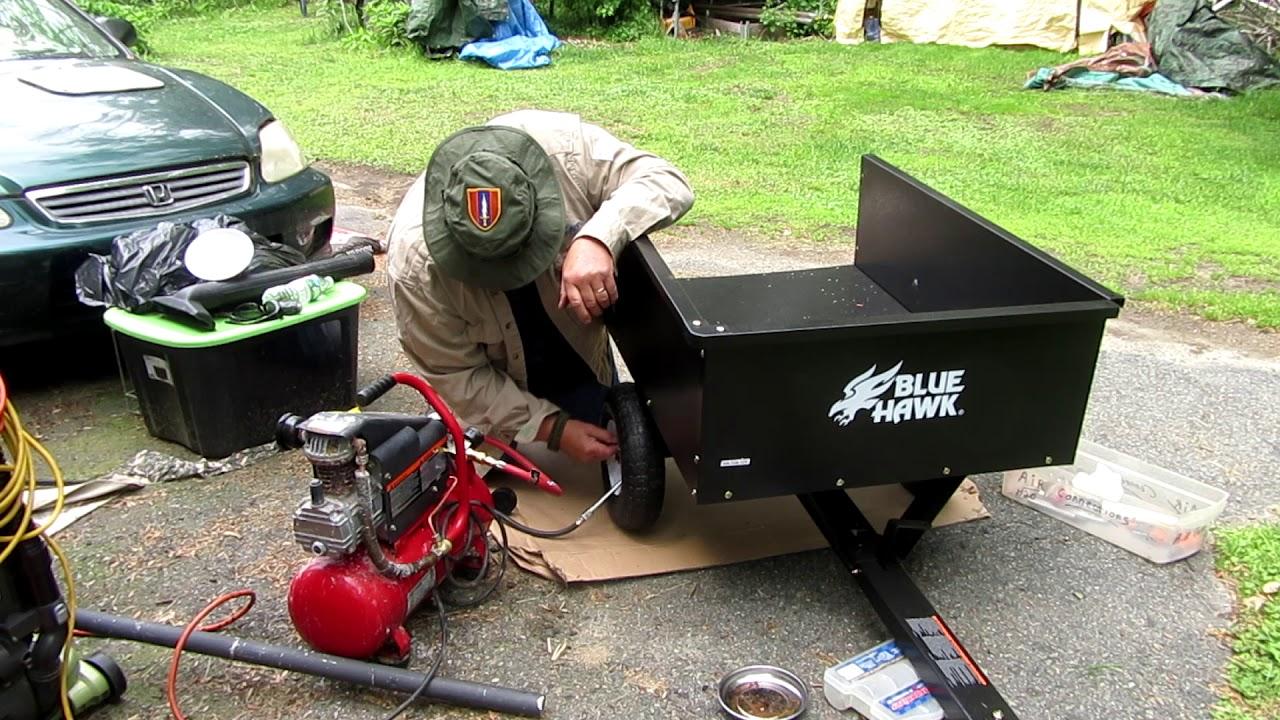 Rons  Beer Reviews  U0026 Tools  Assembles   Blue Hawk Dump